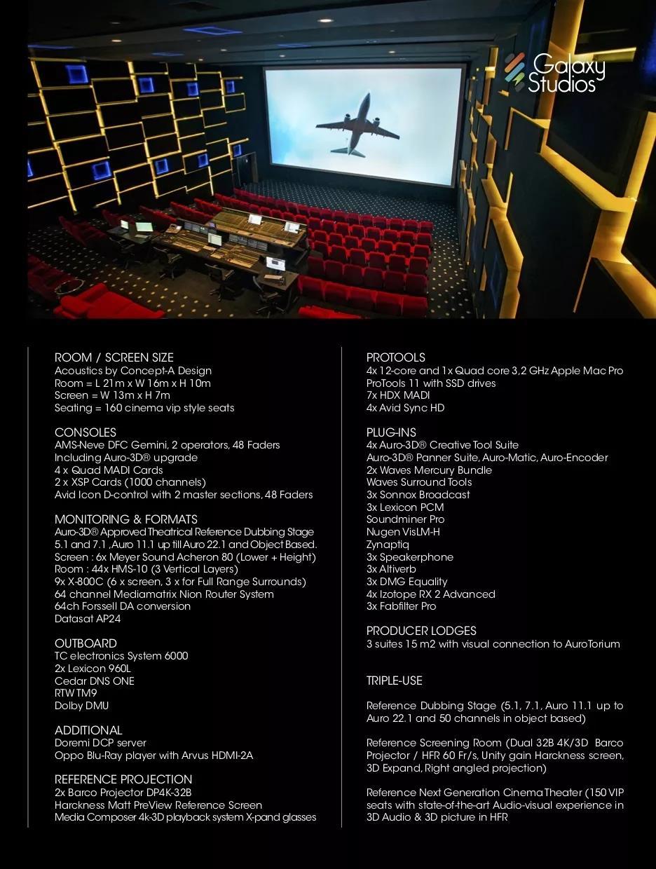 """走访比利时的Galaxy Studios录音棚—步入Auro-3D的诞生地""""Aurotorium影厅"""""""
