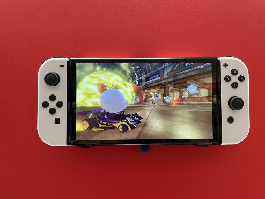 Switch OLED款式真机实拍图新鲜出炉